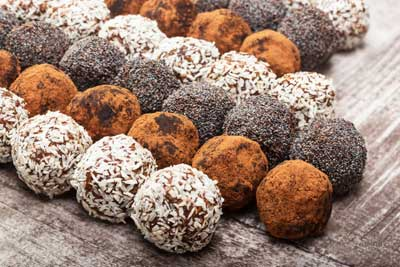 Фотография рецепта Шоколадные рецепты с кэробом