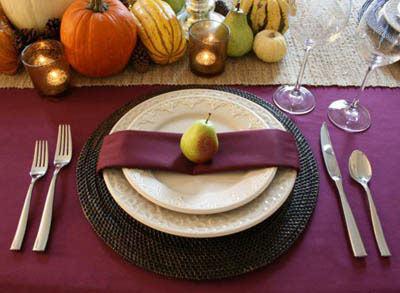Фотография рецепта Сервировка праздничного стола