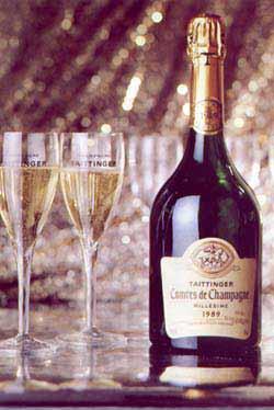 Шампанское  Taittinger