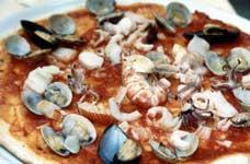 Пицца с морепродуктами. Заряжаемся витаминами!