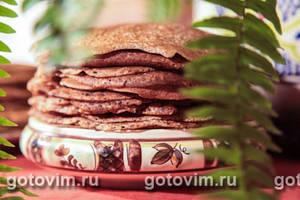 блины из льняной муки без пшеничной муки рецепт