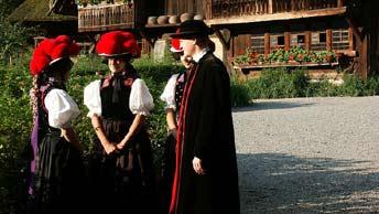 Традиционная одежда жителей региона