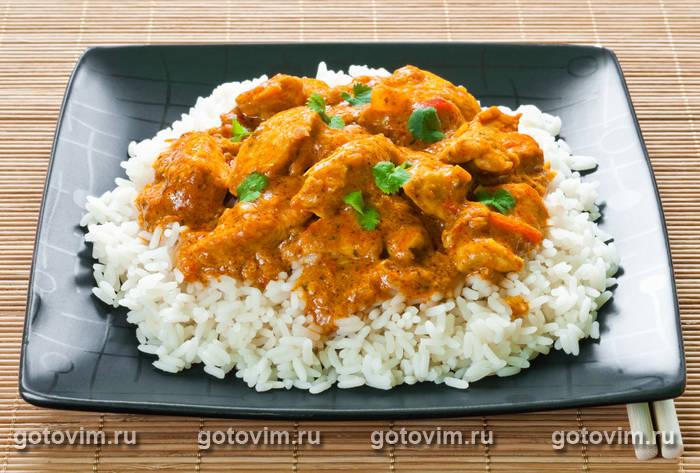 курица с соусом карри рецепт