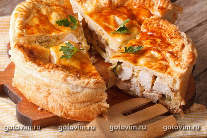 Пряной пирог со свининой-рецепт