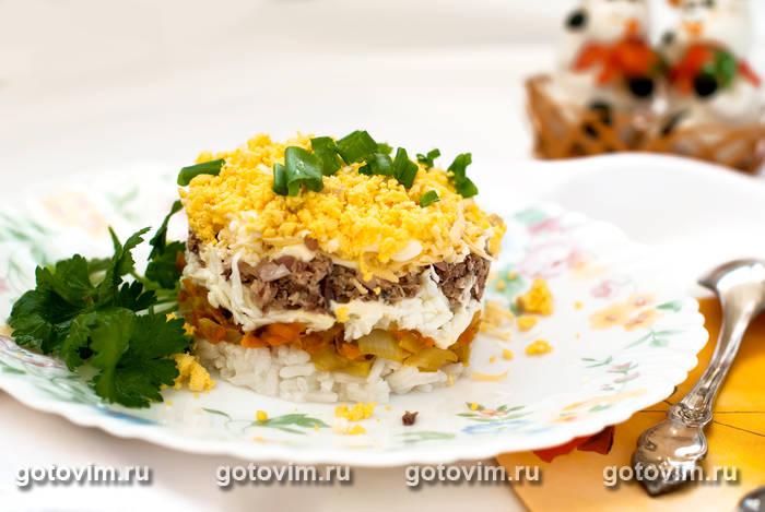 Рецепт мимозы с рисом в фото #6