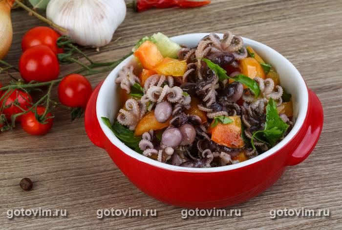 салат с осьминогами рецепт консервированные