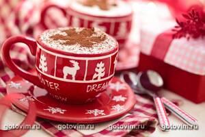 Какао на молоке со сливками