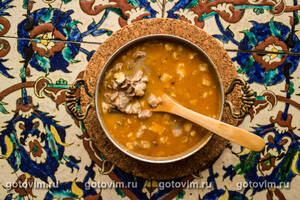 Суп келле-пача (Kelle Paca soup)