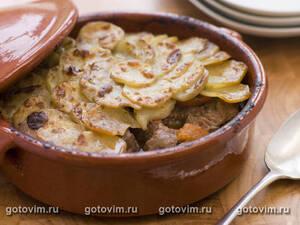 Рагу из баранины или Ланкаширский горячий горшок (Hot Pot)