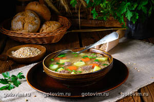 Крупник - польский ячневый суп (Krupnik Polski)