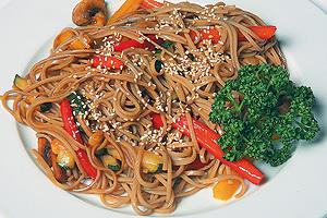 Лапша по-японски с овощами рецепт