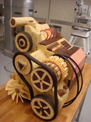 Торт Двигатель