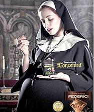 картинки беременной монахини