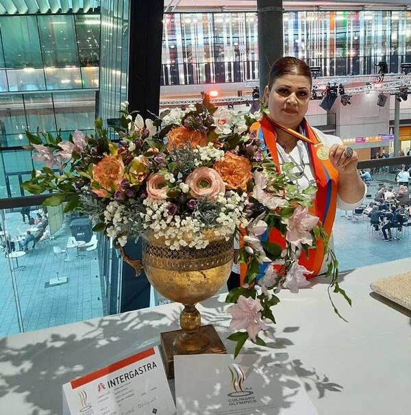 Армянка победила на всемирной кулинарной олимпиаде в Германии