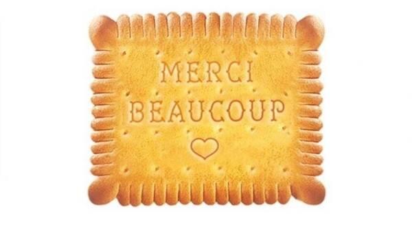 Печенье со словами благодарности врачам выпустили во Франции
