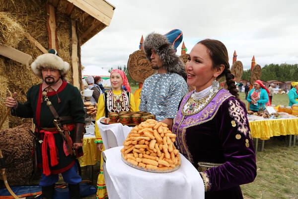 В Башкортостане прошел гастрономический фестиваль «Гусь и мёд»