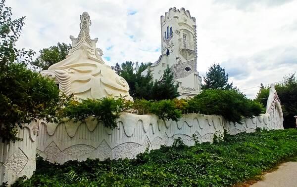 Сахарный замок под Волгоградом попал в объектив федерального канала