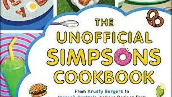 Стало известно, когда выйдет книга с рецептами блюд из сериала Симпсоны