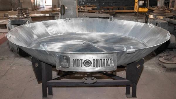 «Мотовилихинские заводы» изготовили самую большую в России сковородку