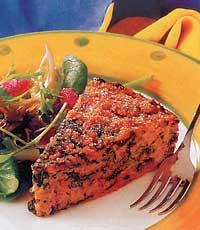 Запеканка с морковью и чесноком