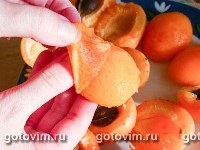 Пирог с абрикосами и творожной начинкой, Шаг 05