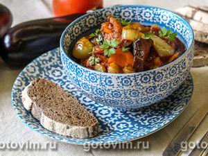 Аджапсандал – овощное рагу по-грузински