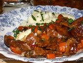 Айнтопф из говядины по-бельгийски