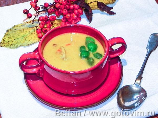 Индийский суп маллигатони (Mulligatawny). Фотография рецепта