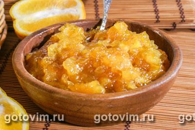 Апельсиновое варенье. Фотография рецепта