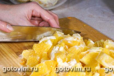 Апельсиновое варенье, Шаг 02