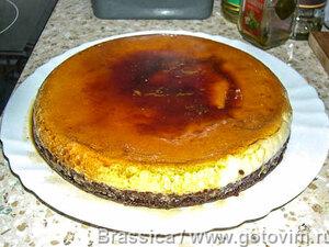 Арабский карамельный десерт