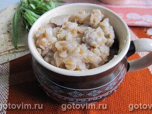 Ариса (армянское блюдо из мяса с полбой)