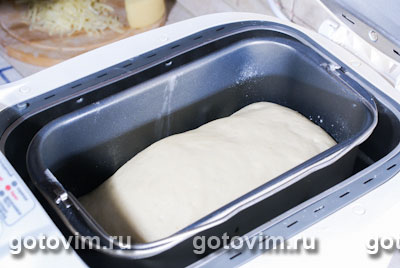 Багеты с сыром (рецепт для хлебопечки), Шаг 02
