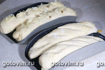 Багеты с сыром (рецепт для хлебопечки), Шаг 06