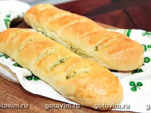 Багеты с базиликом и чесноком