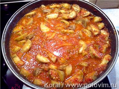 рецепты мяса в томатном соке