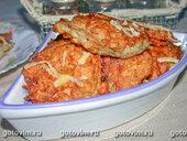 Баклажаны в кляре с сыром