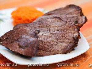 Баранина мечуи с морковным салатом
