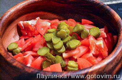 Баскский мясной салат, Шаг 03