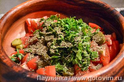 Баскский мясной салат, Шаг 04