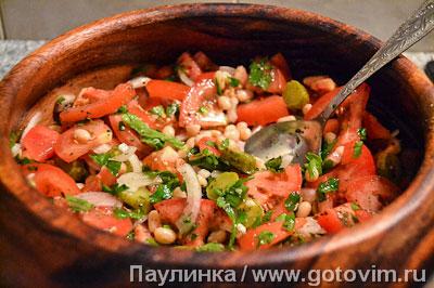 Баскский мясной салат, Шаг 06