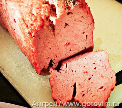 Баварский мясной хлеб, Шаг 05