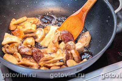 Консервированные жареные белые грибы , Шаг 02