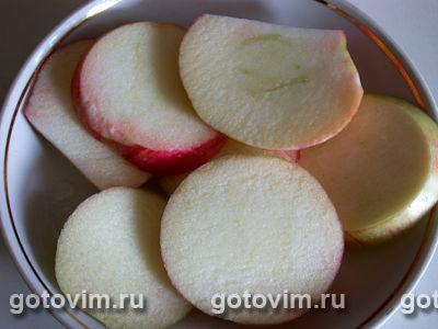 Оладьи с яблоками, Шаг 03