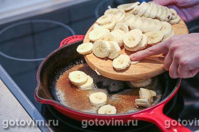 Блины с банановой начинкой, Шаг 03