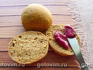 Бородинские булочки к завтраку