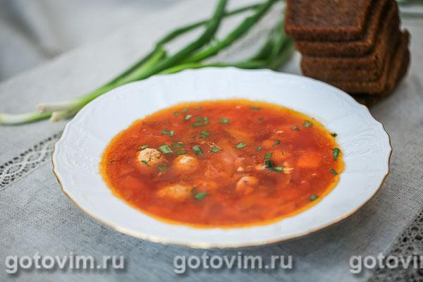 борщ по сибирски рецепт стандартный