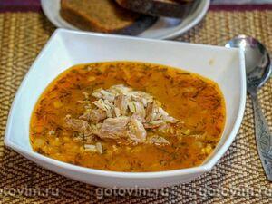 Братиславский суп с говядиной