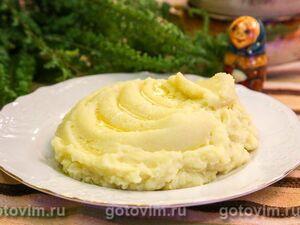 Картофельное пюре с капустой кольраби