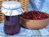 Брусничное варенье с медом